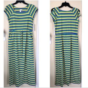 Emma and Michele Dresses & Skirts - Emma & Michele Striped Summer Maxi Dress, SMALL