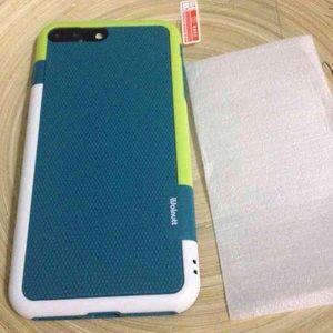 Accessories - iPhone/7plus soft case & glass