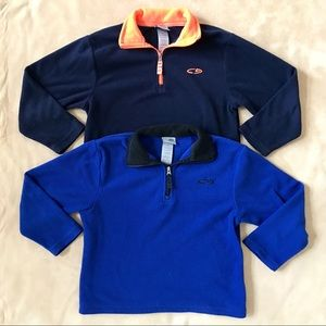 Champion Other - Champion Fleece Quarter Zip Pullovers (Boys 4T)