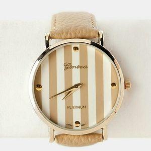 Geneva Platinum Accessories - Geneva Platinum women's watch