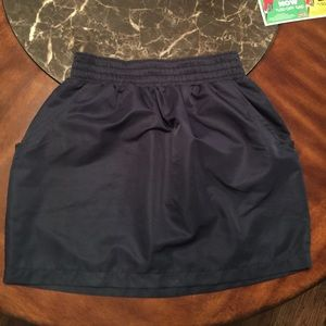 American apparel blue mini skirt size small