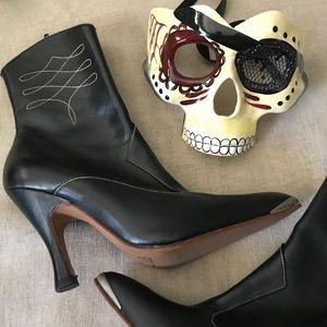 🌴🆕 Steampunk Victorian Style Booties Cosplay