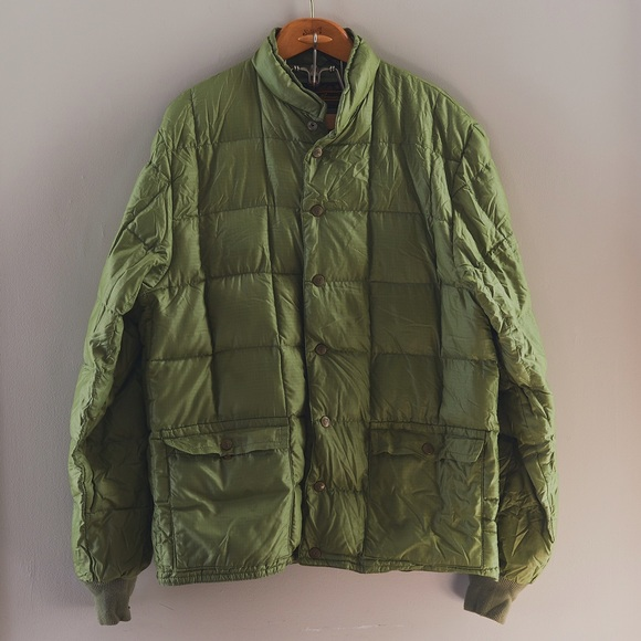 afd3595d8 🌲 Vintage Eddie Bauer Packable Down Jacket