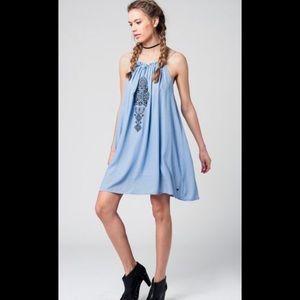 Dresses & Skirts - FINAL PRICE !!!1 LEFT Light Blue Embroidered Dress
