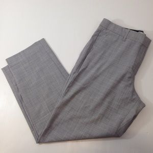 GAP Pants - Gap True Straight 10A Stretch Grey Career Capris