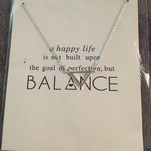 Jewelry - NWT silver plated necklace