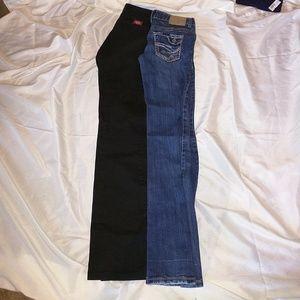 Juniors size 3 jeans bundle