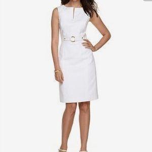 Tahari Dresses & Skirts - 🎉🎉HOST PICK🎉🎉🌺 TAHARI white DRESS🌺