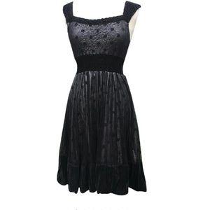 Komarov Dresses & Skirts - Komarov Black Polka Dot Cocktail Dress