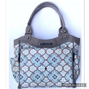 Petunia Pickle Bottom Handbags - Petunia Pickle Bottom City Carryall Diaper Bag