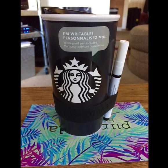 Starbucks Accessories Personalized Mug W Porcelain Art Pen Poshmark