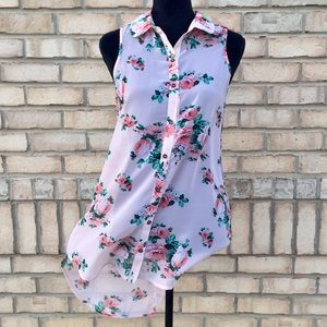Tops - FINAL PRICE HiLow Flower Blouse