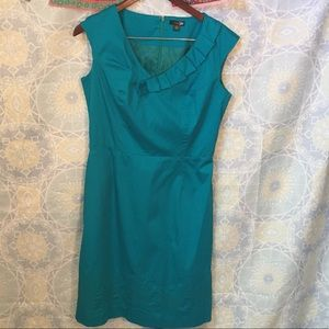 East 5th Dresses & Skirts - Classic Teal Cotton A-Line Dress work wear