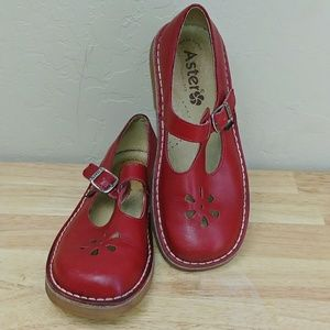 Aster Other - Aster Girls Dingo-YG T-Strap Flat