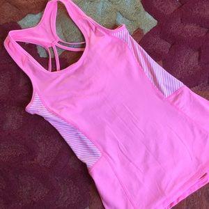 Kyodan Tops - Yoga/Workout top w shelf bra