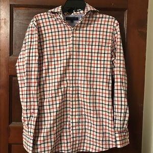 Tommy Hilfiger Other - Tommy Hilfiger Red White Blue Plaid Button Down