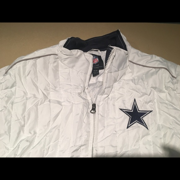 3acd2ea5b Dallas cowboys quilted jacket XL