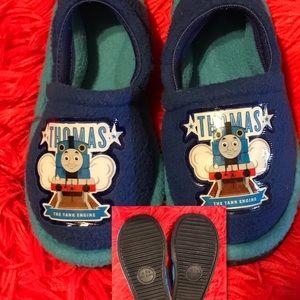 Thomas the Train House Shoes. Size M  7-8