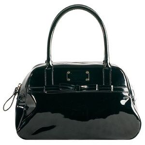 kate spade Handbags - Kate Spade Bowrama Patent Leather Simone Satchel