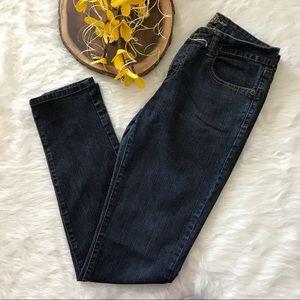 Revolt Society Denim - Dark Wash Denim Skinny Jeans