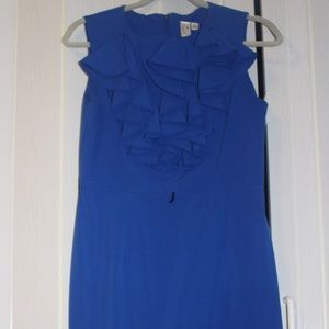 Emma and Michele Dresses & Skirts - Blue dress size 6 with ruffles