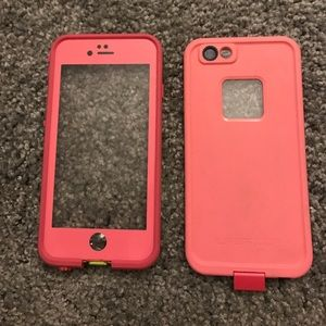 LifeProof Accessories - life proof iPhone 6 case pink green surfer
