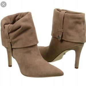 Calvin Klein suede ankle boots 7.5