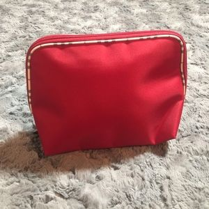 Burberry Handbags - Burberry Red Fragrance Bag