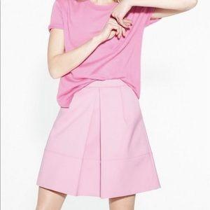 J.Crew Pink A-line Skirt