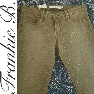 Frankie B. Denim - NWT Frankie B. Stud Rocket Skinny Jeans/Pants 26