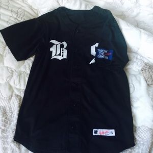 Undefeated Other - Undefeated BS Black Baseball Jersey