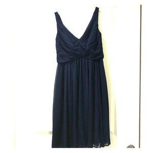 Dresses & Skirts - David's Bridal Navy Bridesmaid Dress