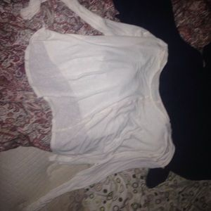 High low v neck top--FREE PEOPLE