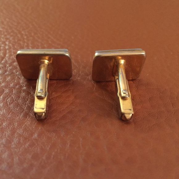 Accessories - Ivory and gold tone cuff links