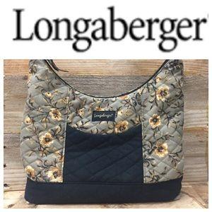 Longaberger Quilted Purse Handbag