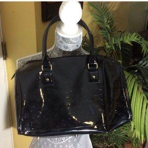 Handbags - Black patent leather purse