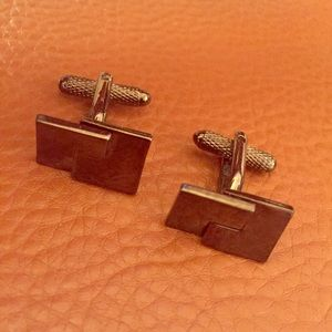 Interlocking face cuff links