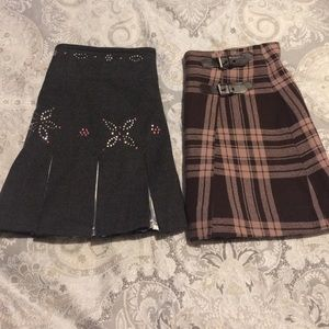 Un Deux Trois Other - Skirts for girls. Bundle of 2 for $20