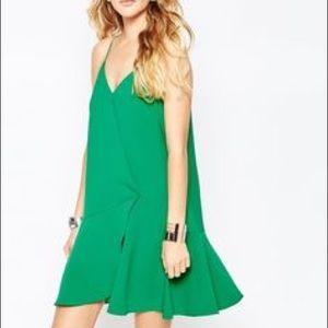 Greylin Dresses & Skirts - Anthropologie Greylin Green Flared Hem Dress L