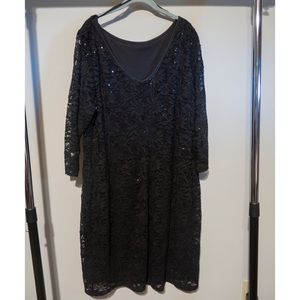 Onyx Dresses & Skirts - Lace Dress with V Back