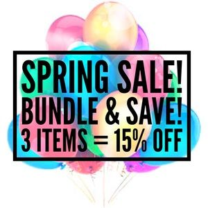 Other - Spring Sale - bundle & save! Make an offer!