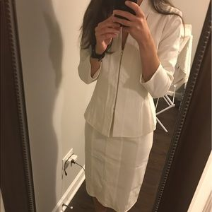 narciso rodriguez white suit