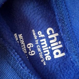 child of mine Matching Sets - Navy Blue Child of Mine Sweatshirt and Trousers