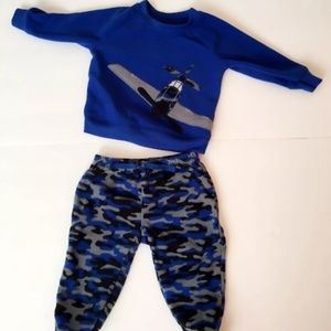 Navy Blue Child of Mine Sweatshirt and Trousers