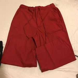 White Stag Pants - White stag red capris