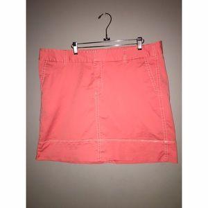 Coral Twill Skirt Sz 18