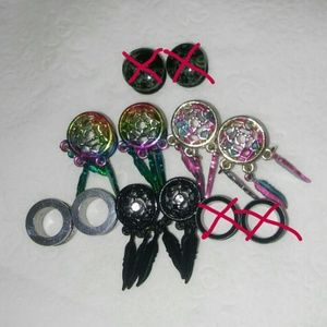 Hot Topic Jewelry - 4 pairs 7/16in plugs!