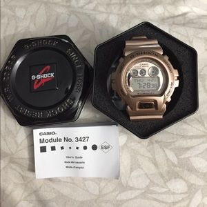 G-Shock Other - Men's G-Shock Watch Rose Gold