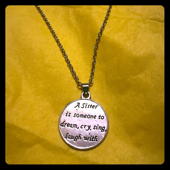 a6d57f185d6 Sister Dreamcrylaughsing 925sp Necklace
