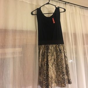 Eight Sixty Dresses - Eight Sixty snake skin dress